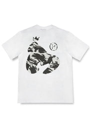 SIG APE NIGHT CAMO TEE	 WHITE