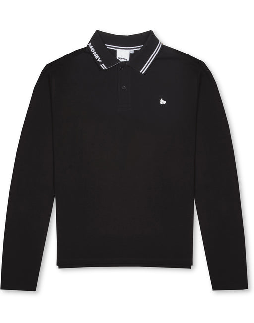 ALL MONEY LONG SLEEVE POLO