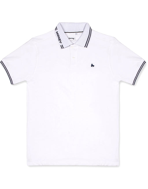 ALL MONEY SHORT SLEEVE POLO