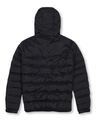 Money Clothing AW18 hooded puffer jacket in black