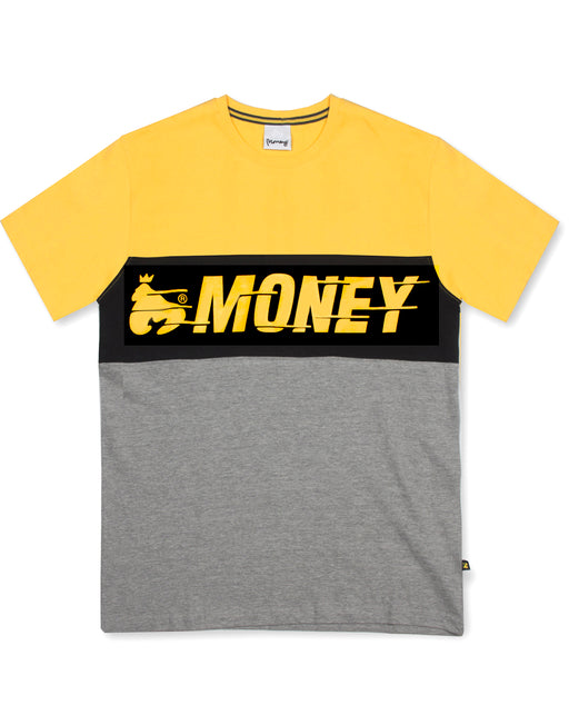 Money Clothing Speed Tee in yellow