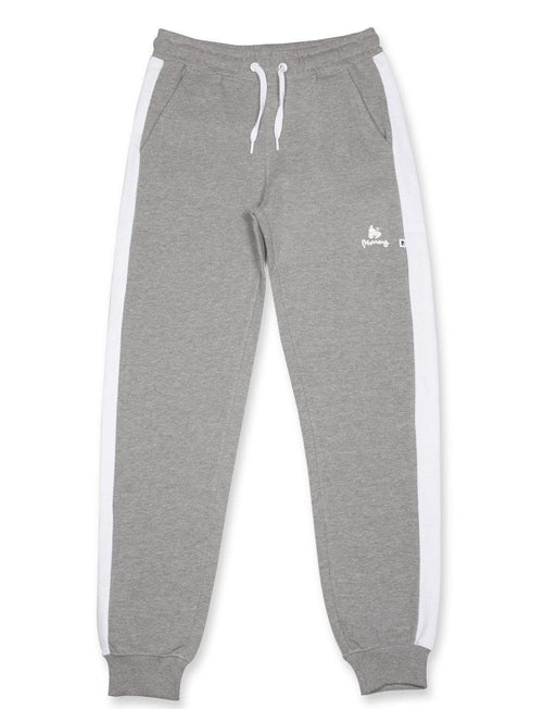 Money Clothing classic retro trackpants in grey