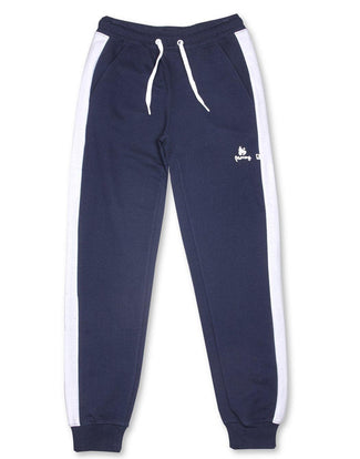 Money Clothing classic retro trackpants in navy