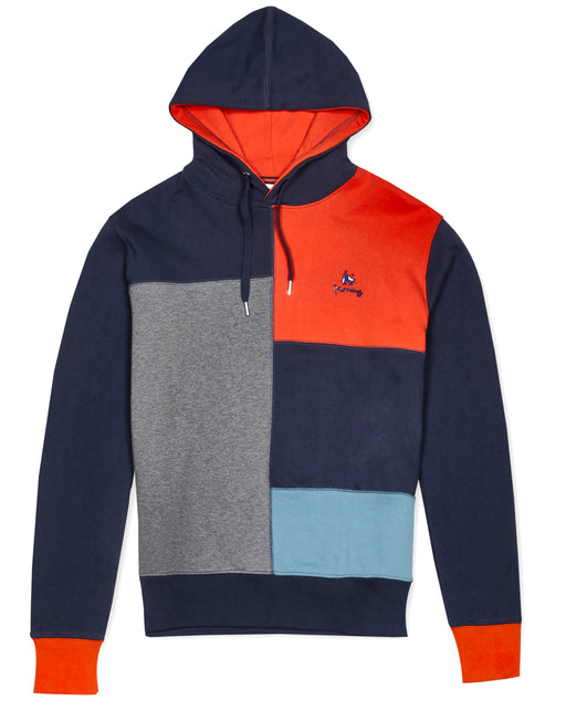 Money Clothing colour block hooded jumper