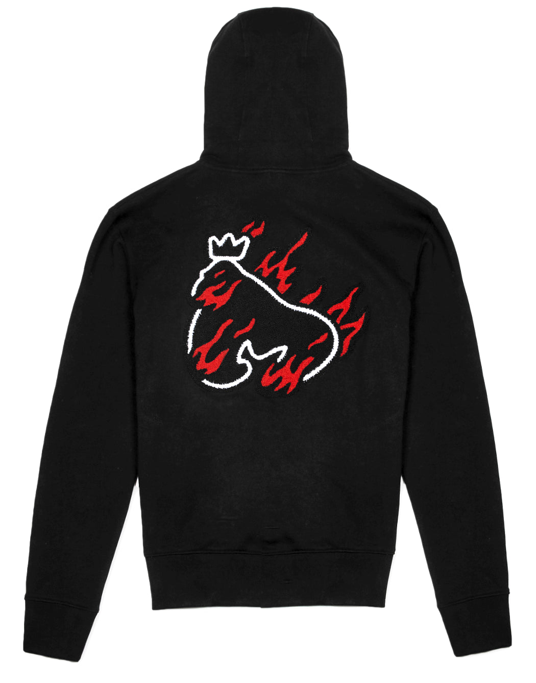 Money Clothing hooded jumper in black