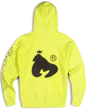 LIMITED EDITION OVERSIZED NEON LOGO HOODY