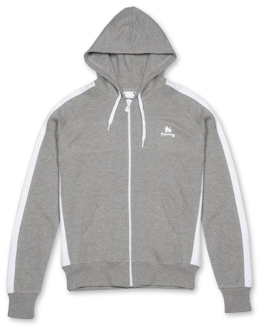 Money Clothing classic retro hoody in grey