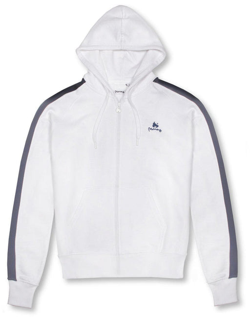 Money Clothing classic retro hoody in white