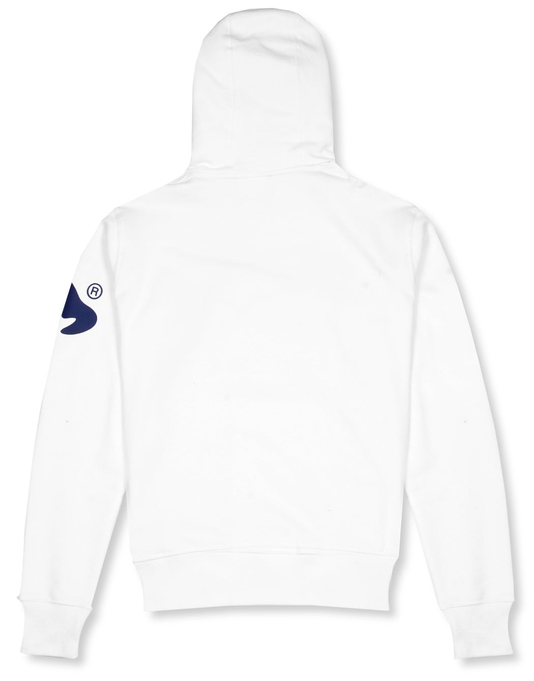 Money Clothing signature logo hoodie in white