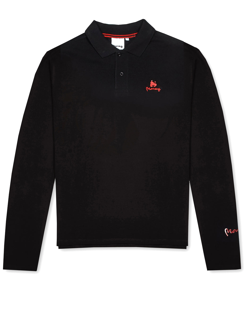 Money Clothing polo shirt in black