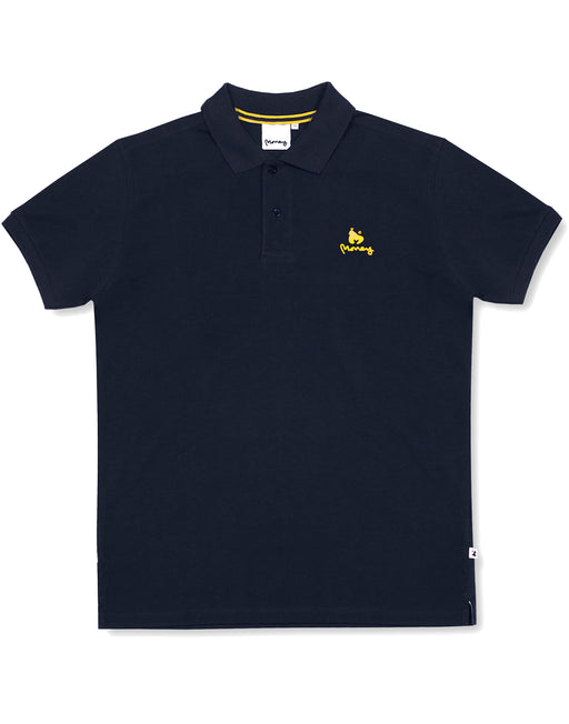 Money Clothing classic polo shirt in navy