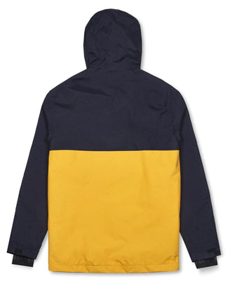 Money Clothing AW18 Shell Jacket in yellow and navy