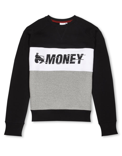 Money Clothing crew neck sweater in black