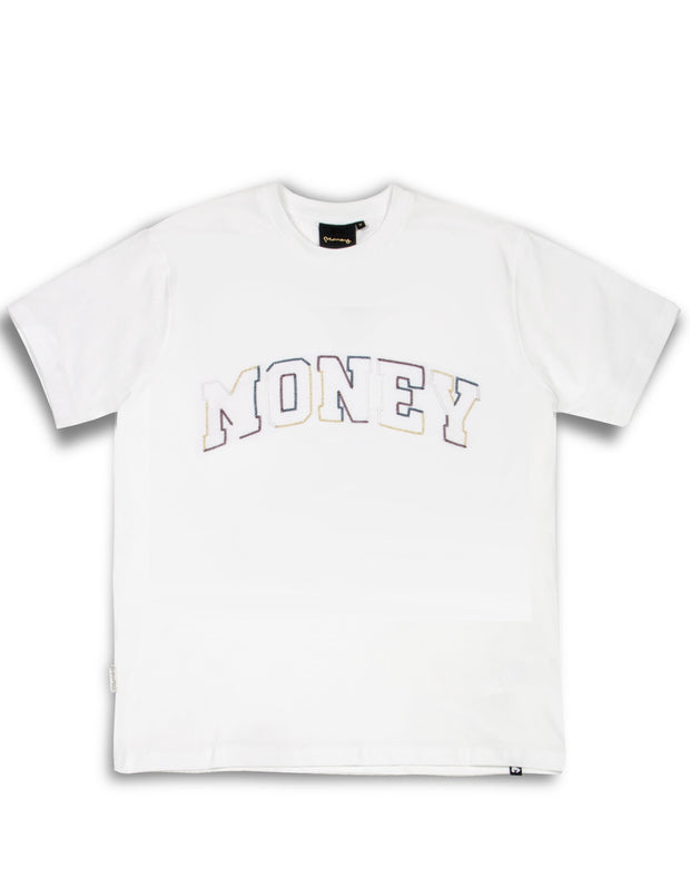MULTI BLOCK TEE WHITE