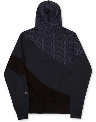 MONEY CLOTHING SWISH CUT HOOD NAVY