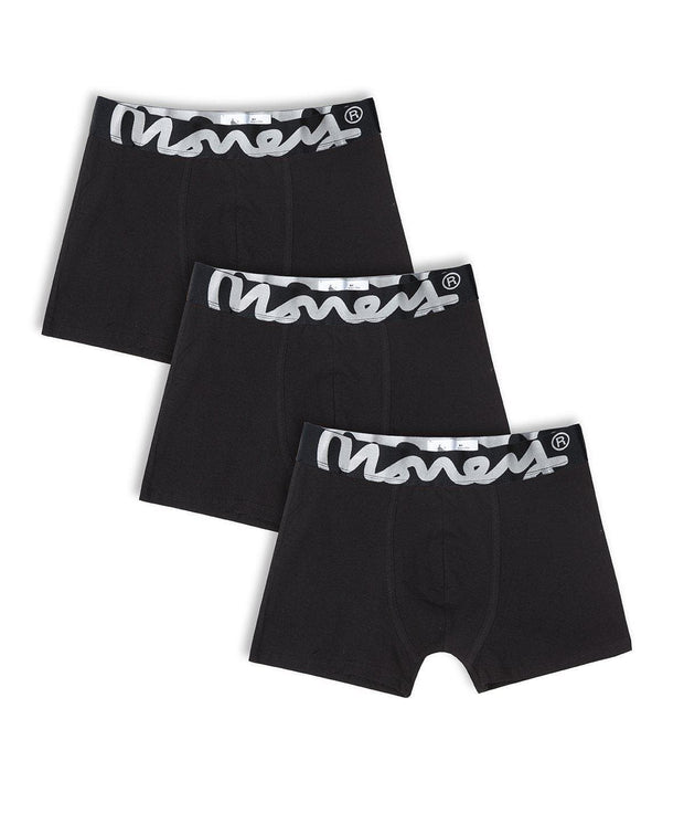 3 PACK MONEY LOGO TRUNKS (New)