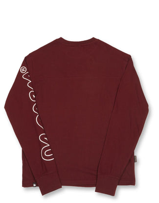 SIG SLEEVE L/S RED