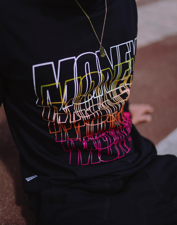 MONEY REPEATER CREW BLACK