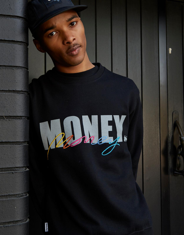 MONEY VICE CREW BLACK
