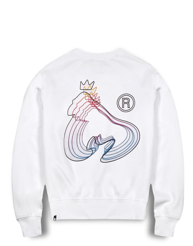 MONEY REPEATER CREW WHITE