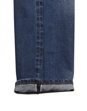 EMBOSSED SELVEDGE DENIM