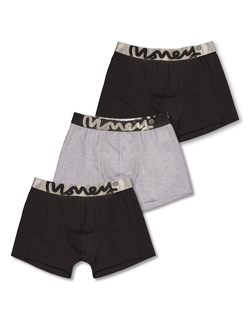 3 PACK MONEY LOGO TRUNKS