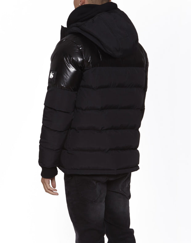 MONEY INTER-CITY PUFFER BLACK