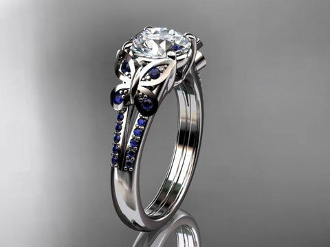Anjay's Designs Moissanite Engagement Rings