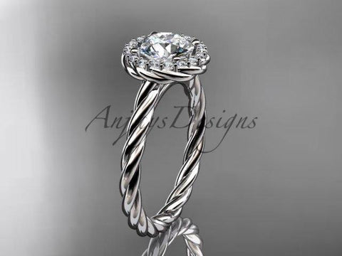 Anjay`s Designs Rope Engagement Rings
