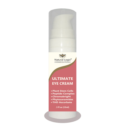 (100) Ultimate Eye Cream in .5 oz (15ml) Airless Pump Bottles