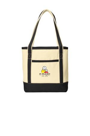 Port Authority® Medium Cotton Canvas Boat Tote. BG412
