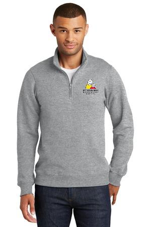 Port & Company® Fan Favorite Fleece 1/4-Zip Pullover Sweatshirt. PC850Q