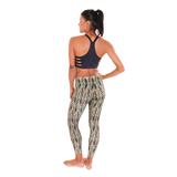 Patterned Yoga Legging Tiled Serenity