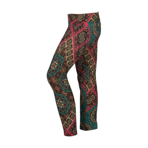 MiniMe Patterned Yoga Legging Last Train To Bombay (Final Sale)
