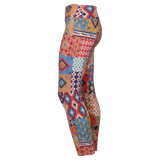Patterned Yoga Legging Texas (Final Sale)