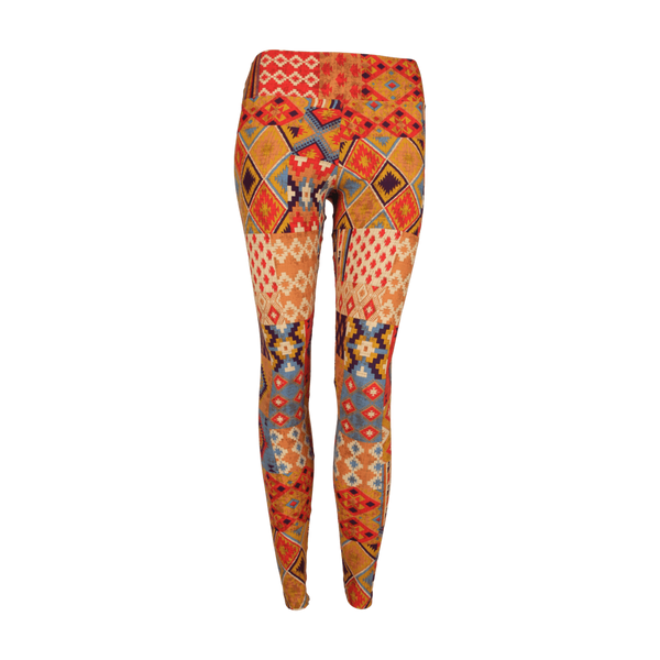 Extra Long Patterned Yoga Legging Texas (Final Sale)