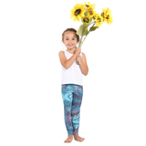 MiniMe Patterned Yoga Legging Wild Feathers (Final Sale)