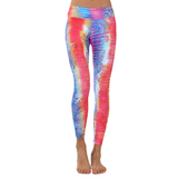 Patterned Yoga Legging Rainbow Paisley