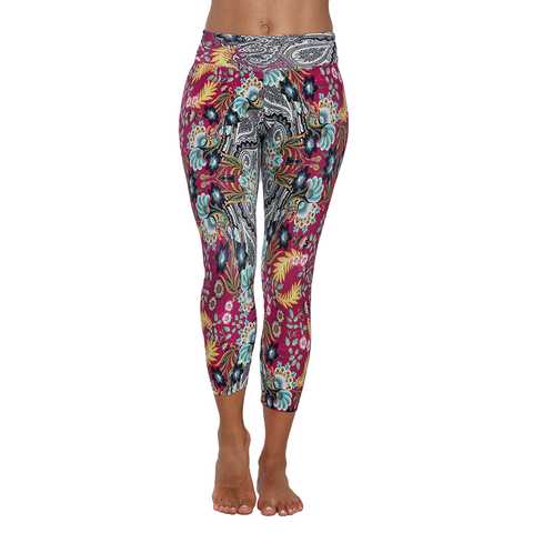 Patterned Yoga Legging Belle du Jour