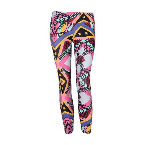 Patterned Yoga Legging New Tribe (Final Sale)