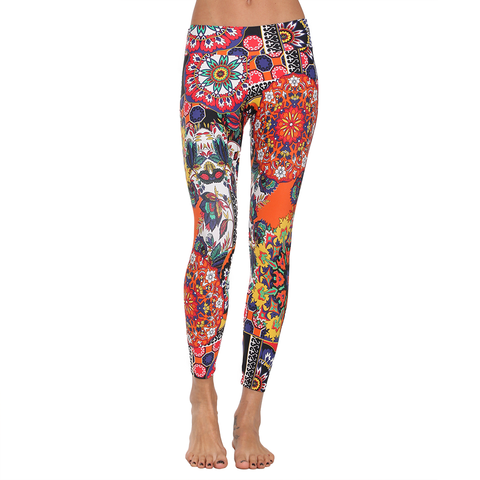 Patterned Yoga Legging Turkish Floral (Final Sale)