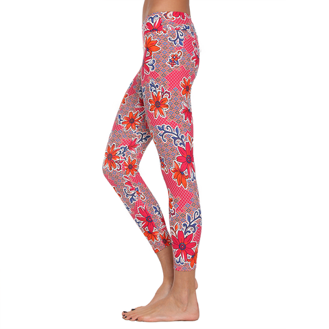 Patterned Yoga Legging Bella Donna Floral (Final Sale)
