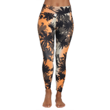 Patterned Yoga Legging Tropical Sunset