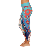 Patterned Yoga Legging Matryoshka Doll (Final Sale)