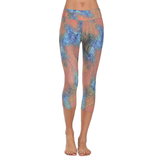 Patterned Yoga Capri Safari Gold (Final Sale)