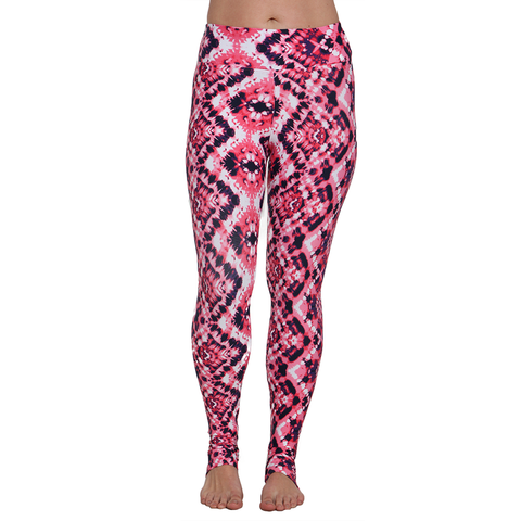 Extra Long Patterned Yoga Legging Esthesia (Final Sale)