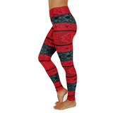 Extra Long Patterned Yoga Legging Lacey Layers (Final Sale)
