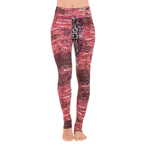 Extra Long Patterned Yoga Legging Tanzania