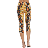 Patterned Yoga Capri Wild Roots (Final Sale)