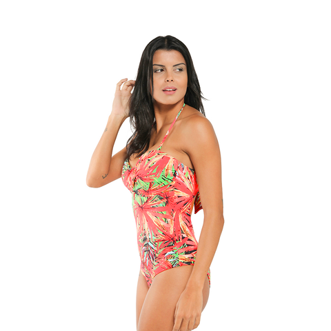 Tropical Palms One-Piece (Final Sale)